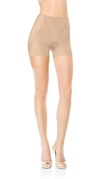 bbd271a5e Spanx Womens Nude Slimplicity Booty Booster Shorts L: Amazon.ca: Clothing &  Accessories