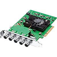 Blackmagic Design DeckLink 4K Pro 12G-SDI PCIe Video and Playback Card, Advanced 12G-SDI, YUV and 12-bit RGB 4:4:4 Images