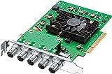 Blackmagic Design DeckLink 4K Pro 12G-SDI PCIe Video and Playback Card, Advanced 12G-SDI, YUV and 12-bit RGB 4:4:4 Images