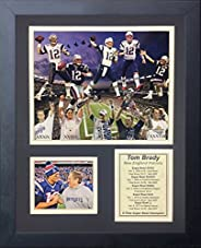 """Tom Brady, New England Patriots- 2016 NFL Super Bowl Champ Collectible 