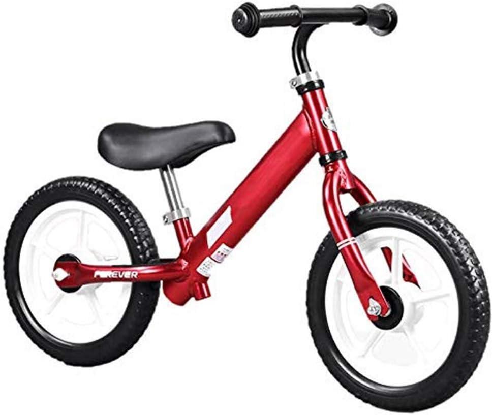 Felices juntos Bicicleta de Equilibrio con Frenos, Bicicleta de Equilibrio for niños de 2 a 6 años de Edad. Bicicleta for Correr - Primera Bicicleta - Bicicleta de Entrenamiento - Bicicleta for