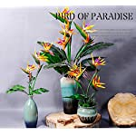 6-Pieces-of-25-Bird-of-Paradise-Latex-Silk-Flower-Bouquets-Tropical-Flower-Bouquet