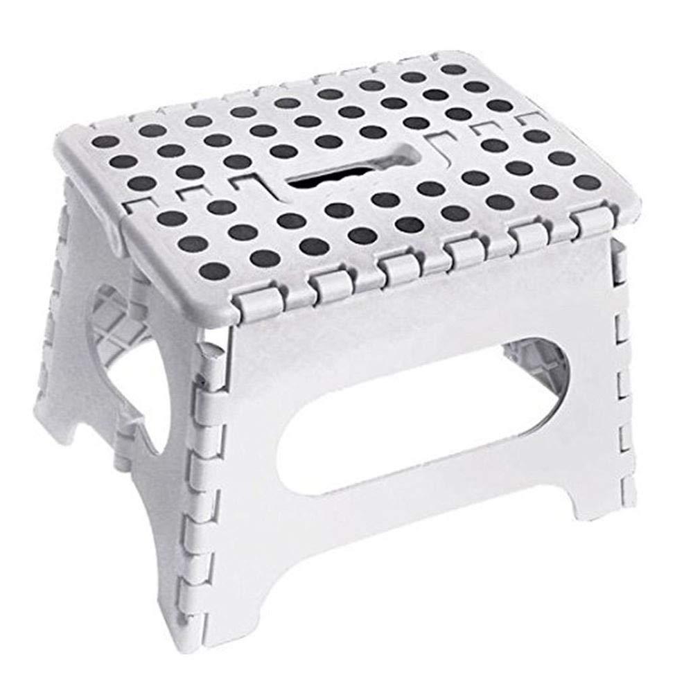 ASAB - Taburete Plegable (plástico, 150 kg, 25 x 21 x 21 cm ...
