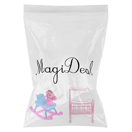 Amazon.es: MagiDeal Cama de Cuna de Color Rosa + Caballo Oscilante ...