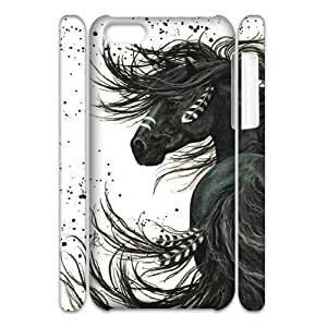 Horse 3D-Printed ZLB535233 Custom 3D Phone Case for Iphone 5C