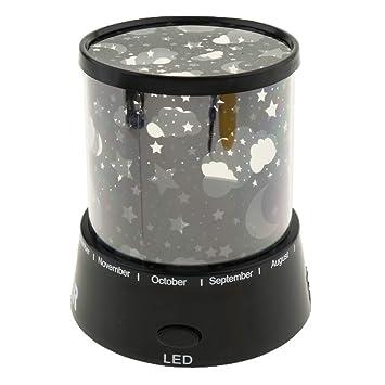 Lámpara de Iluminación Nocturna Proyector de Luz LED Infanitl ...