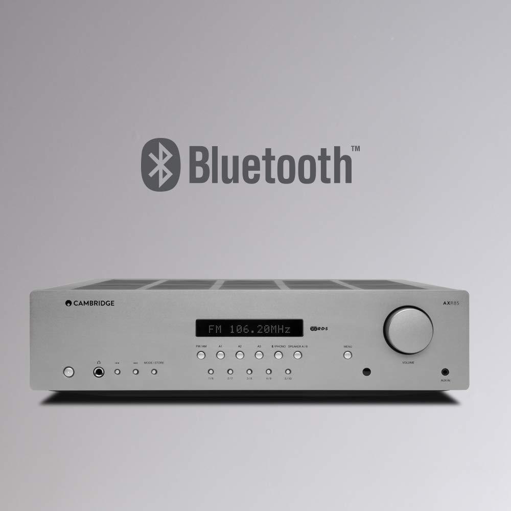 Cambridge Audio AXR85 85 Watt AM//FM Stereo Receiver Built In Phonostage Bluetooth