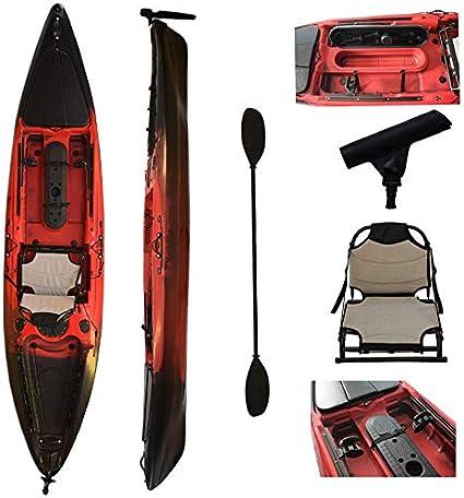 Amazon.com: Vanhunks Boarding Black Bass - Kayak de pesca ...