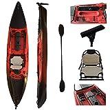 Vanhunks Boarding Black Bass 13ft Single Fishing Kayak