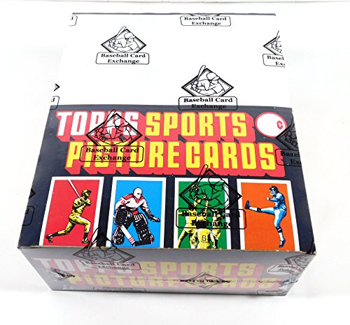 (1986 Topps Baseball Rack Box 24 Rack Packs BBCE Wrapped FASC From A Sealed Case)
