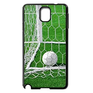 wugdiy Customized Hard Back Case Cover for Samsung Galaxy Note 3 N9000 with Unique Design Soccer Ball