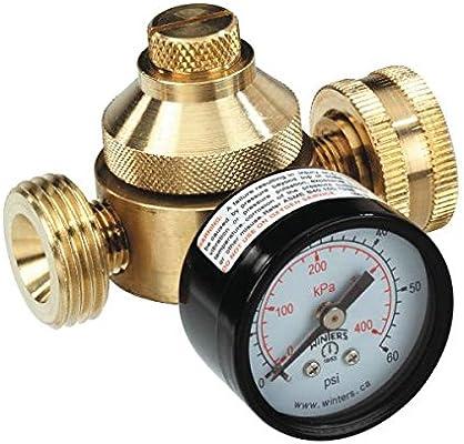 SEA TECH 0121265 Lead Free Water Pressure Regulator with Gauge