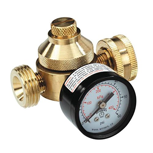 Sea Tech (0121265) Lead Free Water Pressure Regulator with Gauge