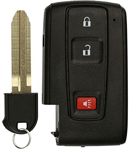 KeylessOption Keyless Entry Remote Control Car Key Fob Replacement for Prius -