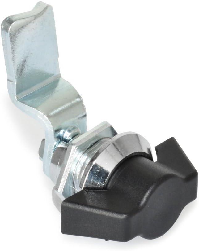 Bet/ätigung mit T-Griff| 1 St/ück Ganter Normelemente GN 115-ST-24 Verriegelungen mit Bedienelement