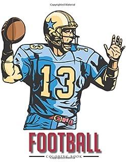 football coloring book - Football Coloring Book