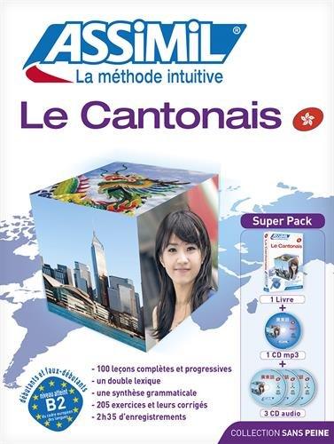 Assimil le cantonais sans peine SUPERPACK [livre +4 Audio CD's + 1 CD MP3] (Cantonese Edition)