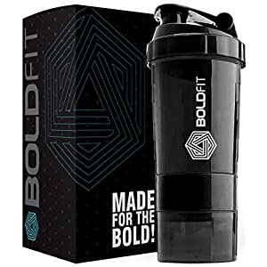 Boldfit Gym Spider Shaker Bottle 500ml with Extra Compartment 3