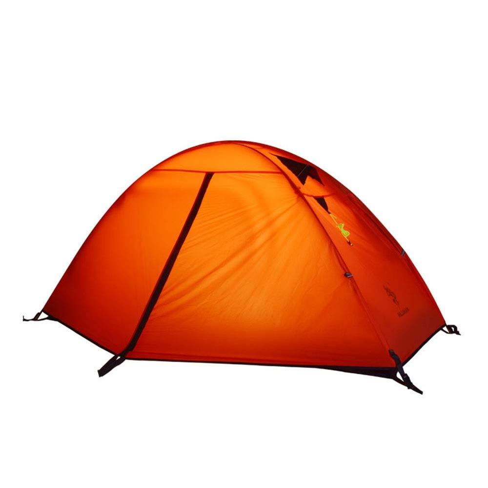el más barato Tienda al Aire Libre Ultra Ligera Ligera Ligera única contra la tormenta Camping Camping Alpinismo Poste de Aluminio Equipo (Color   Rojo )  Envíos y devoluciones gratis.