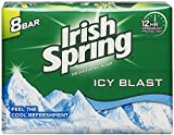 Irish Spring Icy Blast Deodorant Bar Soap 3.75 oz, 8 ea (Pack of 4)