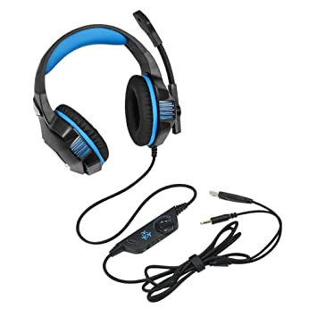 68314bc4952 Hunterspider V-3 3.5mm Wired Gaming Headsets Over Ear Headphones Noise  Canceling Earphone