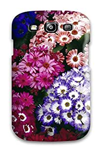 Austin B. Jacobsen's Shop 6324889K67515404 New Premium Flip Case Cover Colorful Cinerarias Skin Case For Galaxy S3