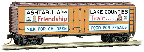 Micro-Trains MTL N-Scale Friendship Train #8 - Lake Counties Ice Reefer #66370 - Micro Trains Line
