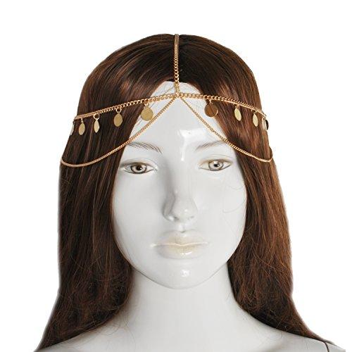 Jane Stone Collier a Cheveux Ethnique Vintage Femme Cheveux Accessoires