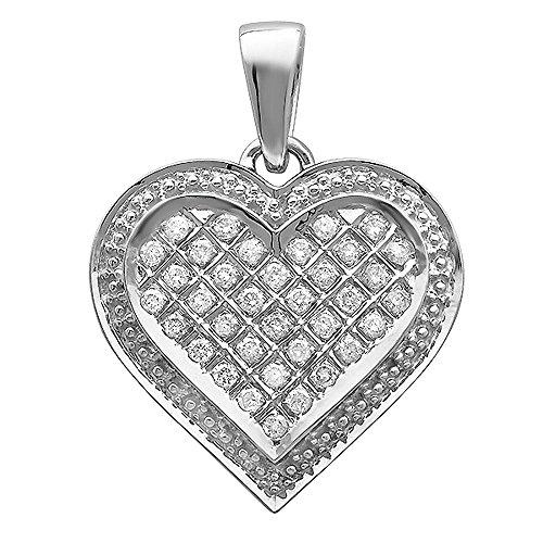 0.75 Ct Diamond Pendant - 9
