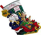 Bucilla 86711 Officer Santa Stocking Kit