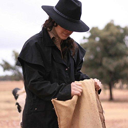 Traders Giacca Kakadu Uomo Nero Impermeabile Australia AOqRxwqd