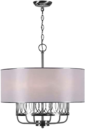World Imports Lighting 9077-37 Venn 6-Light Chandelier