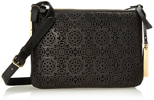 Vince Camuto Neve Cross Body Bag, Black Maizy Perf, One Size