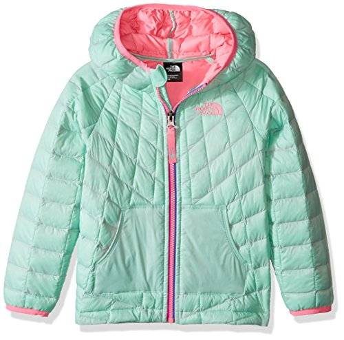 The North Face Girl's Toddler Reversible Thermoball Hoodie (4T, Surf Green)