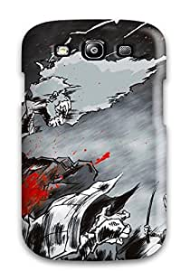 Hot Tpye Afro Samurai Anime Game Blood Case Cover For Galaxy S3