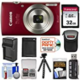 Best Canon Digital Cameras Compacts - Canon PowerShot Elph 180 Digital Camera (Red) Review