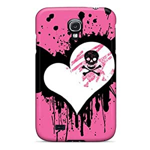PxNiotl3633DAnga Snap On Case Cover Skin For Galaxy S4(pink Heart)