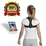 Back Posture Corrector for Women & Men | Enhances Posture & Relieves Back & Neck Pain| Best Fully Adjustable Posture Brace | Upper Back Straightener for Slouching & Hunching| Subtle Comfortable Design
