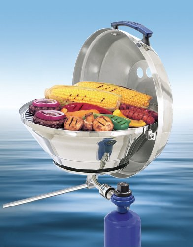 Magma Products, A10-205 Marine Kettle A10-205, Gas Grill, Original Size 15 Inches, Stainless Steel, Adjustable Control Valve (Mount Magma Top)