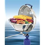Magma Marine Kettle A10-205, Gas Grill, Original Size 15 Inches, Stainless Steel, Adjustable Control Valve
