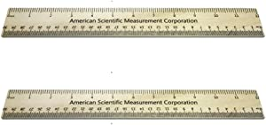 Trick Ruler - 2-Pack, Gag Gift, Office Joke, Party Favor, Size Enhancement, School Prank, Boss Gift, Makes Everything 33% Bigger (2)