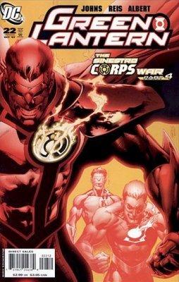 "Green Lantern #22 ""2nd Print Variant"" ebook"