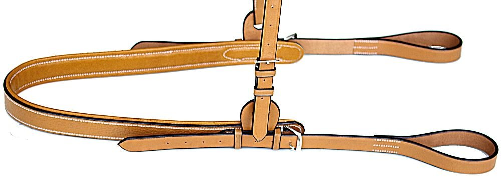 Chukker 7 Polo Breastplate - Tan and Havana Brown