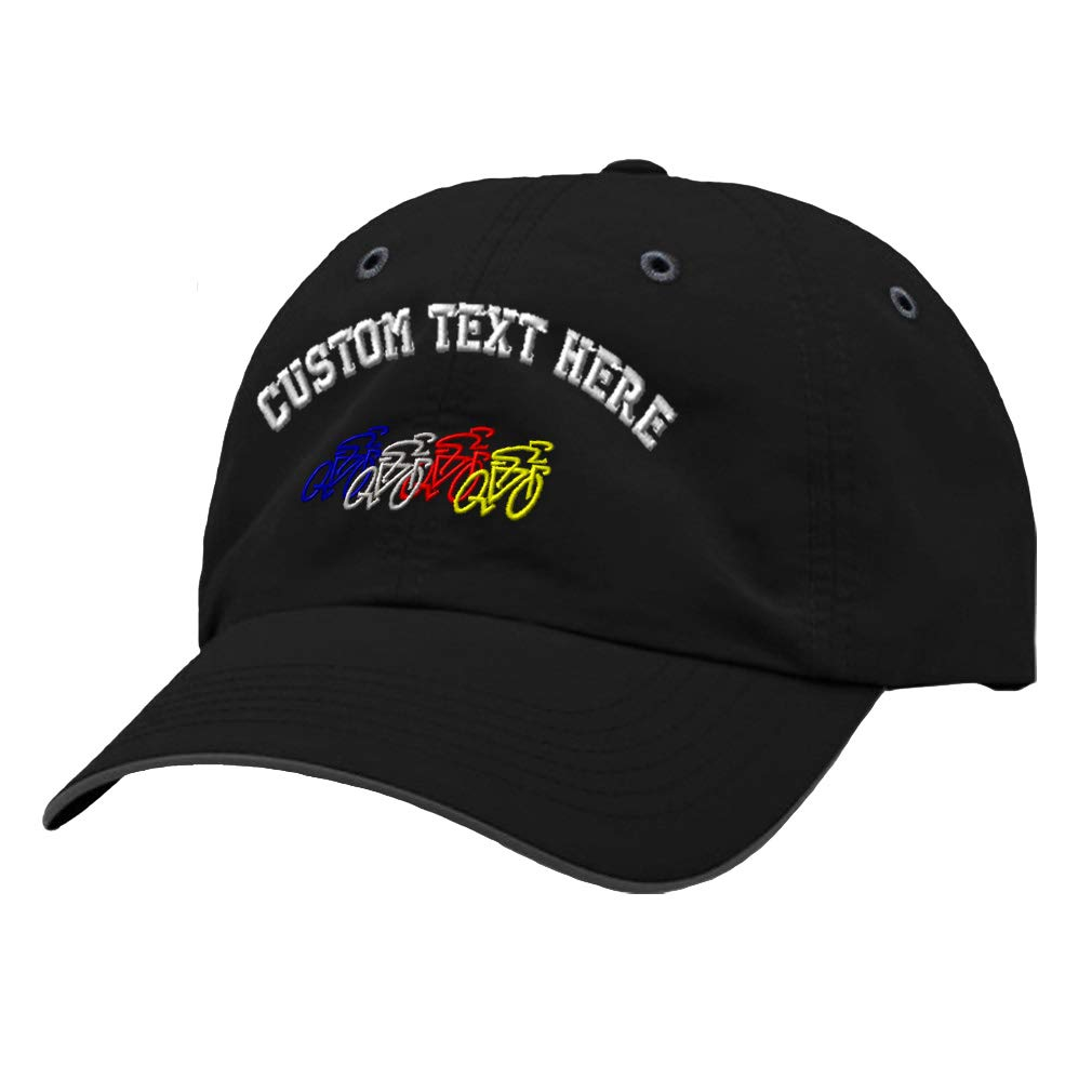 Custom Richardson Running Cap Bike Race Embroidery Design Polyester Hat