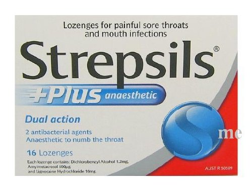 Strepsils Plus Action Cough Pill