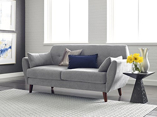 Serta Artesia Collection 61″ Loveseat in Smoke Gray