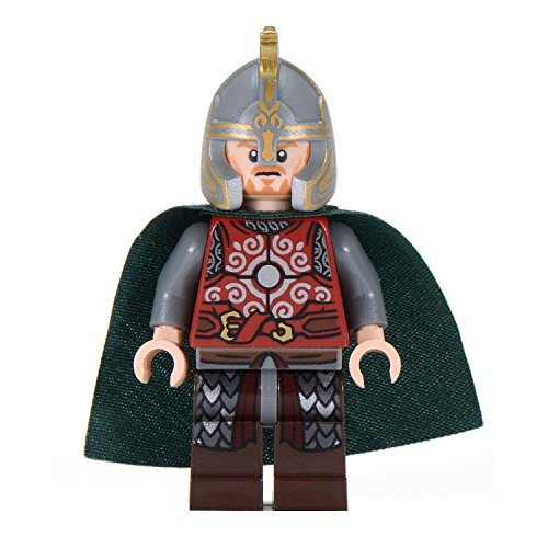 with LEGO Lord of the Rings design