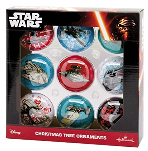 NEW! 2016 Star Wars Ornament Set of 9 | Double Sided
