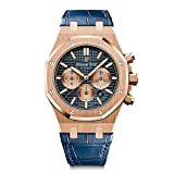 #1: Audemars Piguet AP Royal Oak Chronograph Novelty 41 Rose Gold Blue Dial 26331OR.OO.D315CR.01