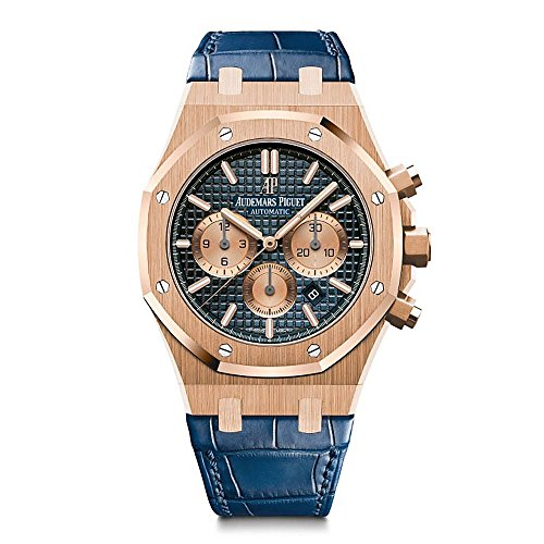 Audemars Piguet AP Royal Oak Chronograph Novelty 41 Rose Gold Blue Dial 26331OR.OO.D315CR.01